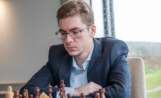 David Antón en el torneo de la Isla de Man.
