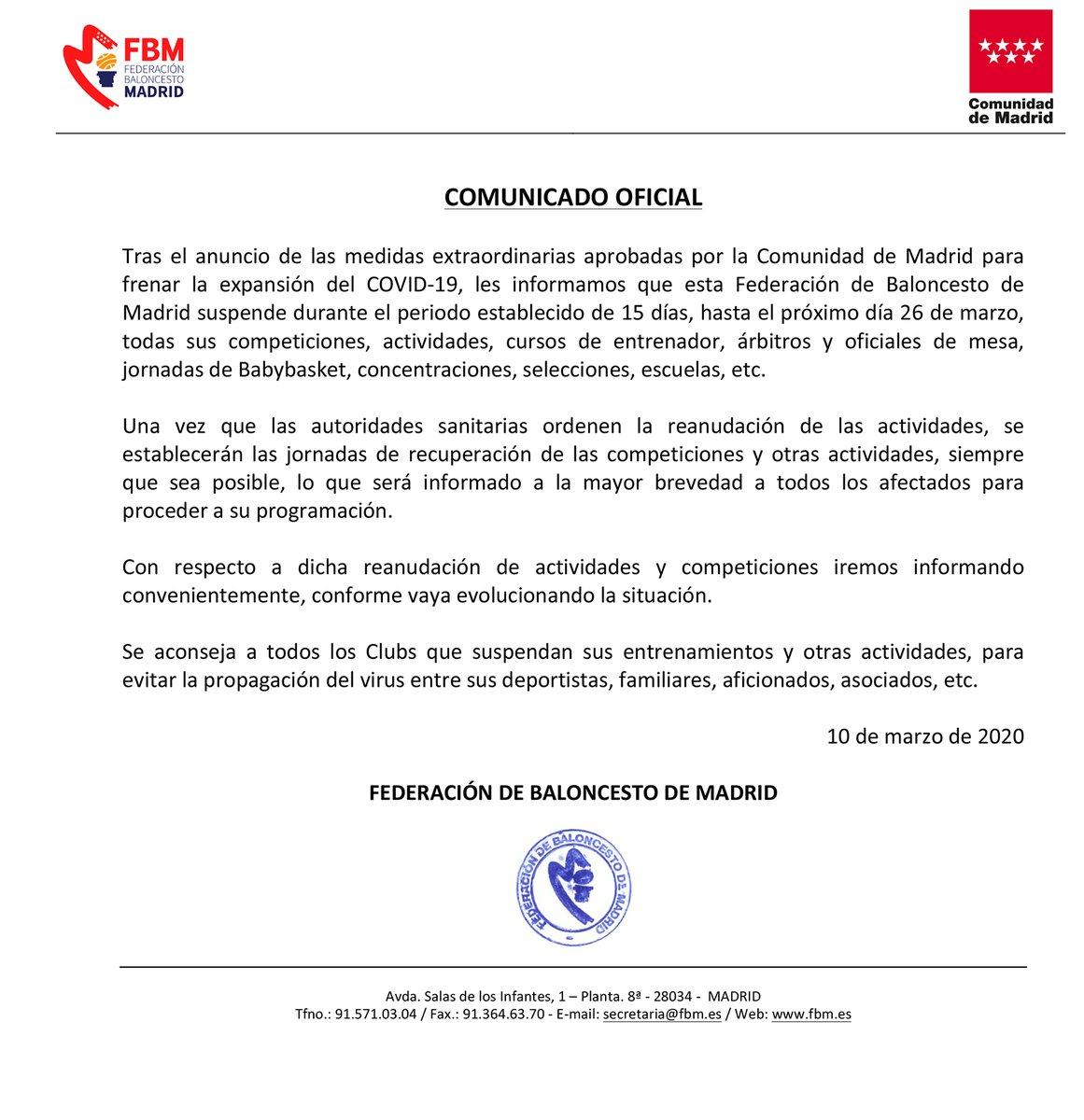 Foto: Federación Madrileña de Baloncesto